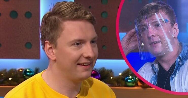 Joe Lycett wore a visor on Channel 4