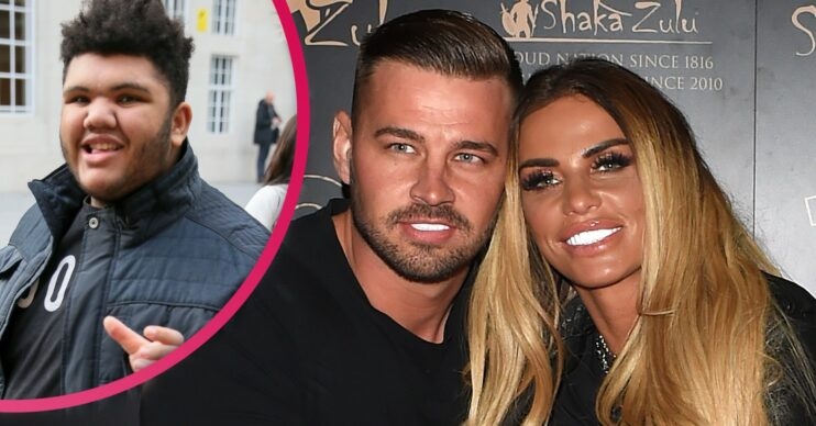 Katie Price latest: Harvey Price called mum Katie's fiancé Carl Woods a very rude name