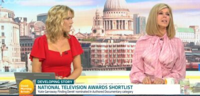Kate Garraway hopes husband Derek can attend NTAs