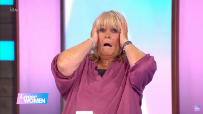 Linda robson on Loose Women today