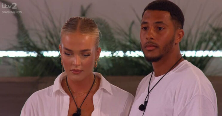 Love Island couple Mary and Aaron voted off