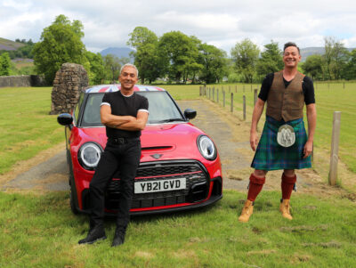 Craig and Bruno on ITV road trips show