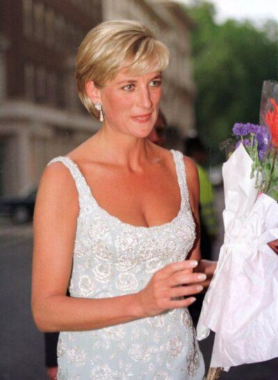 Princess Diana during royal engagements