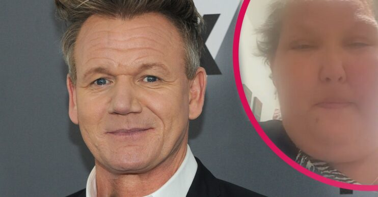 Heather Bone asked Gordon Ramsay for a special bucket-list message and he duly obliged in typical Gordon fashion