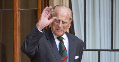 Prince Philip died on April 9 aged 99