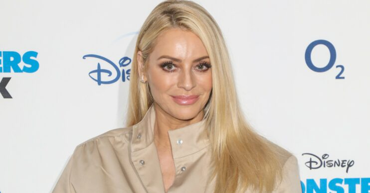 Tess Daly stuns in daughter's dress on Instagram