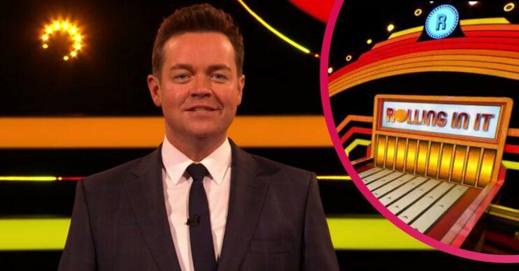 Stephen Mulhern hosts Rolling In It on ITV