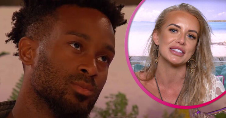 love island star teddy criticised by ex-girlfriend