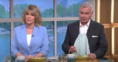 Ruth Langsford and Eamonn Holmes hosting This Morning