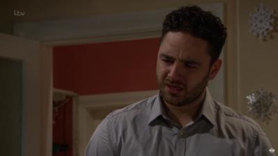 Adam Thomas as Adam Barton in Emmerdale