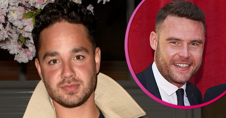 Adam Thomas shares Instagram pic with Danny Miller