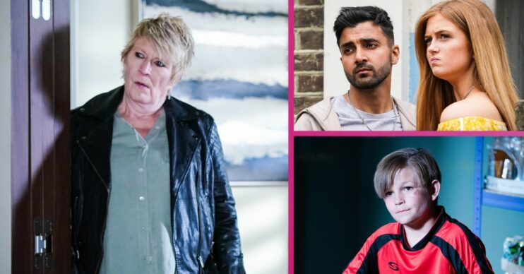 EastEnders spoilers Shirley Tommy Vinny and Tiffany