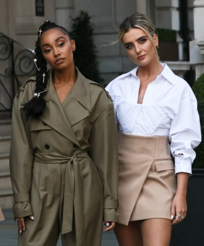 Leigh-Anne Pinnock and Perrie edwards
