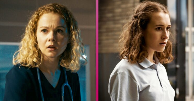 Chloe and Evie Holby City spoilers