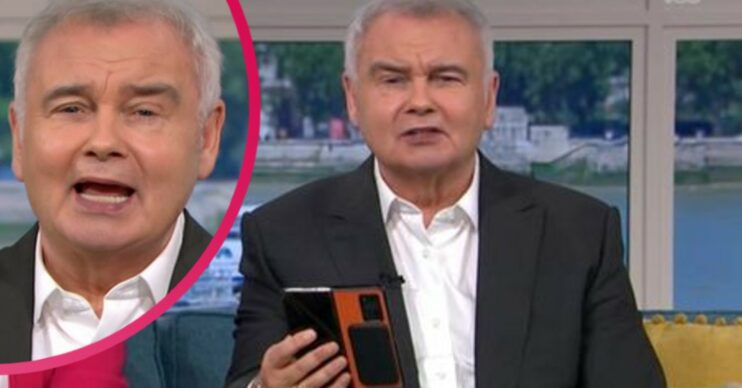 Eamonn Holmes on This Morning today