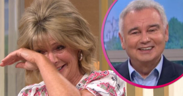Ruth Langsford giggles on This Morning
