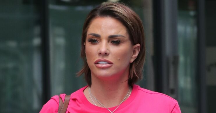 Katie Price flashes Carl Woods' engagement ring