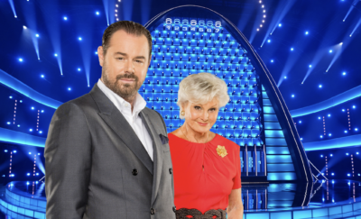 Danny Dyer and Angela Rippon The Wall