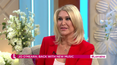 Jo O'Meara appeared on Lorraine and viewers thought she looked different