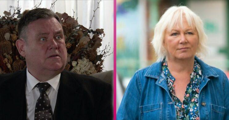 Coronation Street spoilers Eileen and George