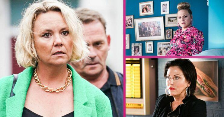 EastEnders spoilers Janine Kat Linda