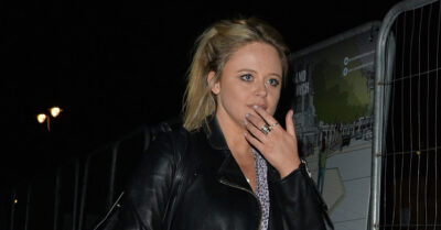 Emily Atack is filming second series of new show