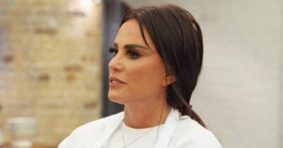 Katie Price on Celebrity Masterchef BBC