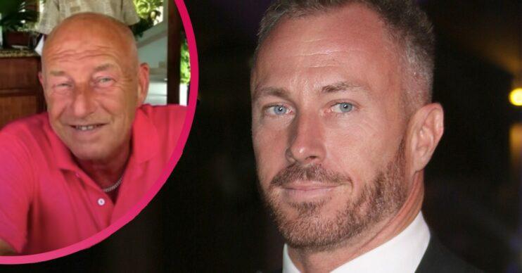 James Jordan 'cried every day' following dad Allen's death
