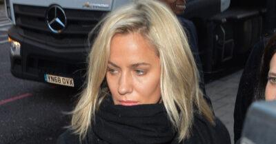 Caroline Flack attending court in December 2019