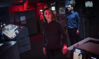 Suranne Jones and Shaun Evans in new BBC submarine drama Vigil