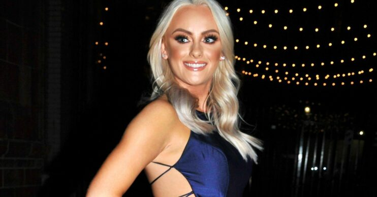 Katie McGlynn dressed up for a night out
