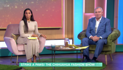 Rochelle Humes and eamomnn Holmes on This Morning