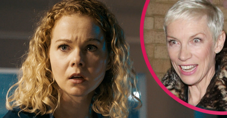 Is Holby City actress Amy Lennox - who plays Chloe Godard - related to Annie Lennox?