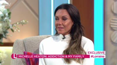 Michelle Heaton on Lorraine apologised to the host