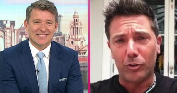 On GMB today, Ben Shephard made a blunder while interviewing Gino D'Acampo