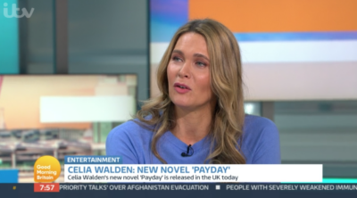 On Good Morning Britain today, Celia Walden pleaded with show bosses to take husband pIers Morgan back
