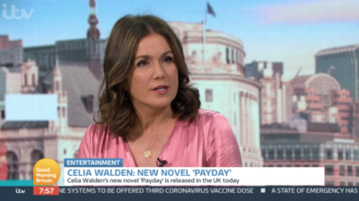 On Good Morning Britain today, Susanna Reid interviewed Celia Walden