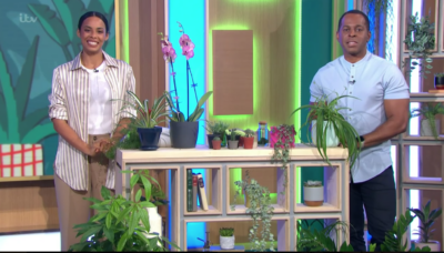 Andi Peters and Rochelle Humes on This Morning