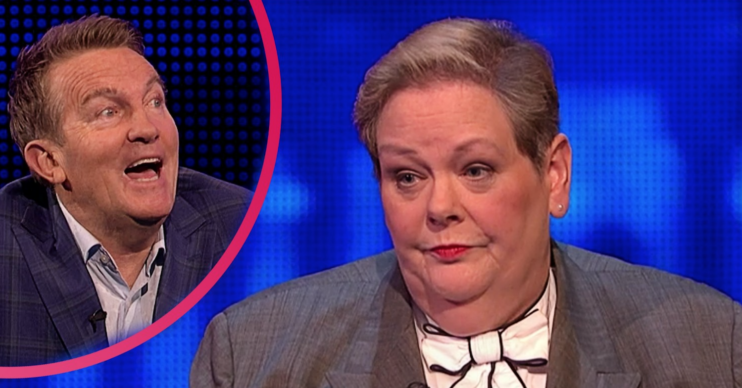 Bradley Walsh and Anne Hegerty on The Chase