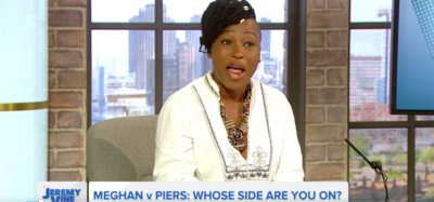 Dr Shola Mos-Shogbamimu rants about Piers Morgan on The Jeremy Vine Show