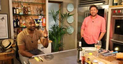 James Martin was joined on the show by Ore Oduba