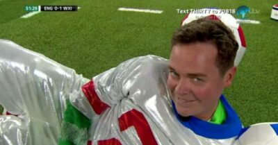 Stephen Mulhern as The Masked Winger