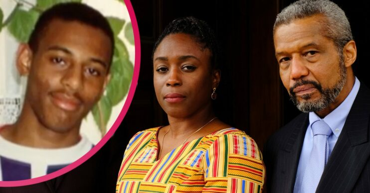 Hugh Quarshie and Sharlene Whyte portray Stephen Lawrence's parents in ITV1's Stephen
