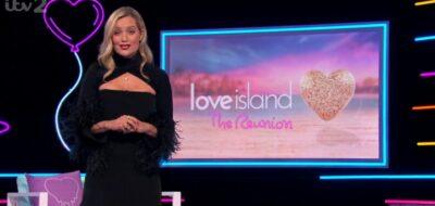 Laura Whitmore hosts the Love Island reunion 2021