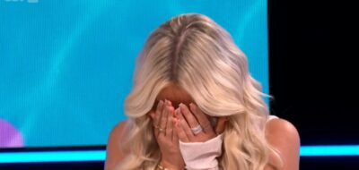 Lillie covers her face during awkward Love Island reunion 2021