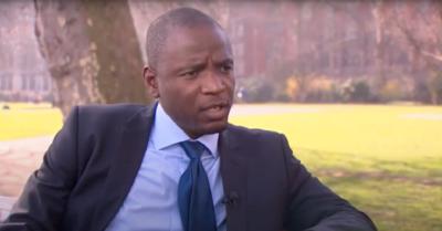 Duwayne Brooks in television interview