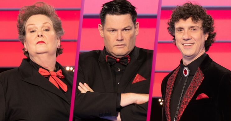 Beat the Chasers stars Anne Hegerty, Mark Labbett and Darragh Ennis