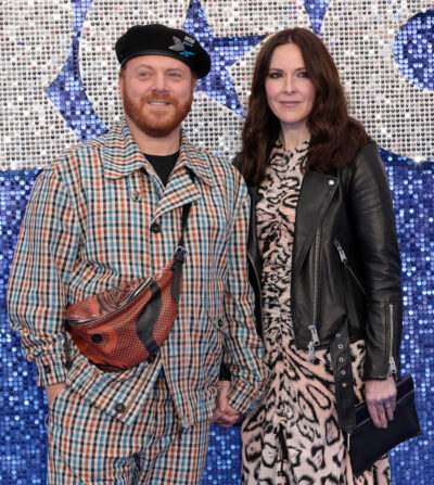 Leigh Francis and his wife Jill Carter