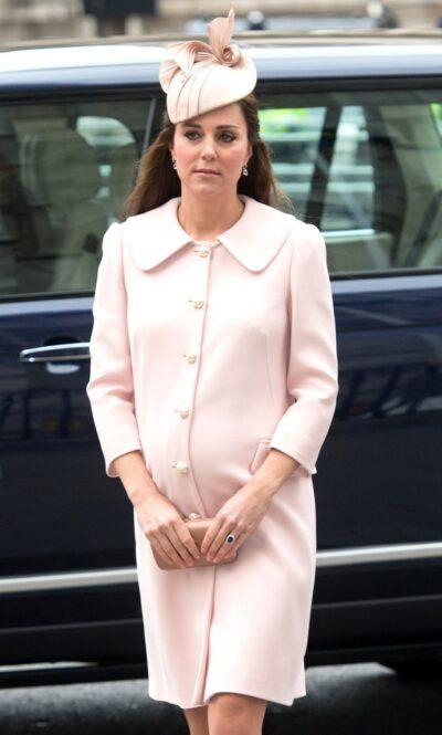 Kate Middleton pregnant with Princess Charlotte