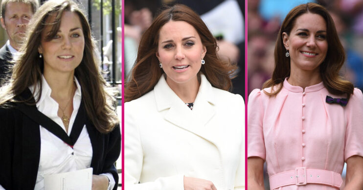 Kate Middleton style over the years